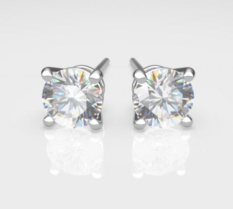 vendita diamanti orecchini