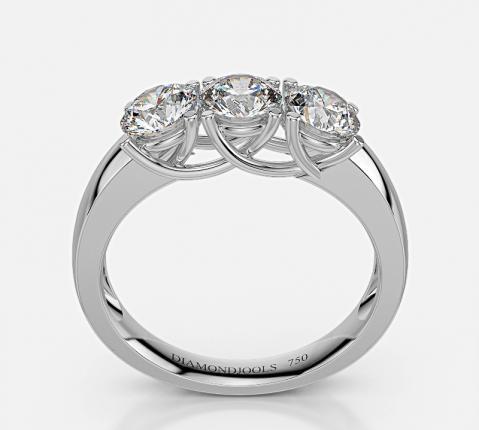 vendita diamanti anello