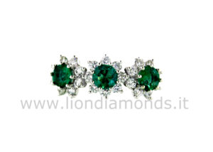 anello trilogy smeraldi