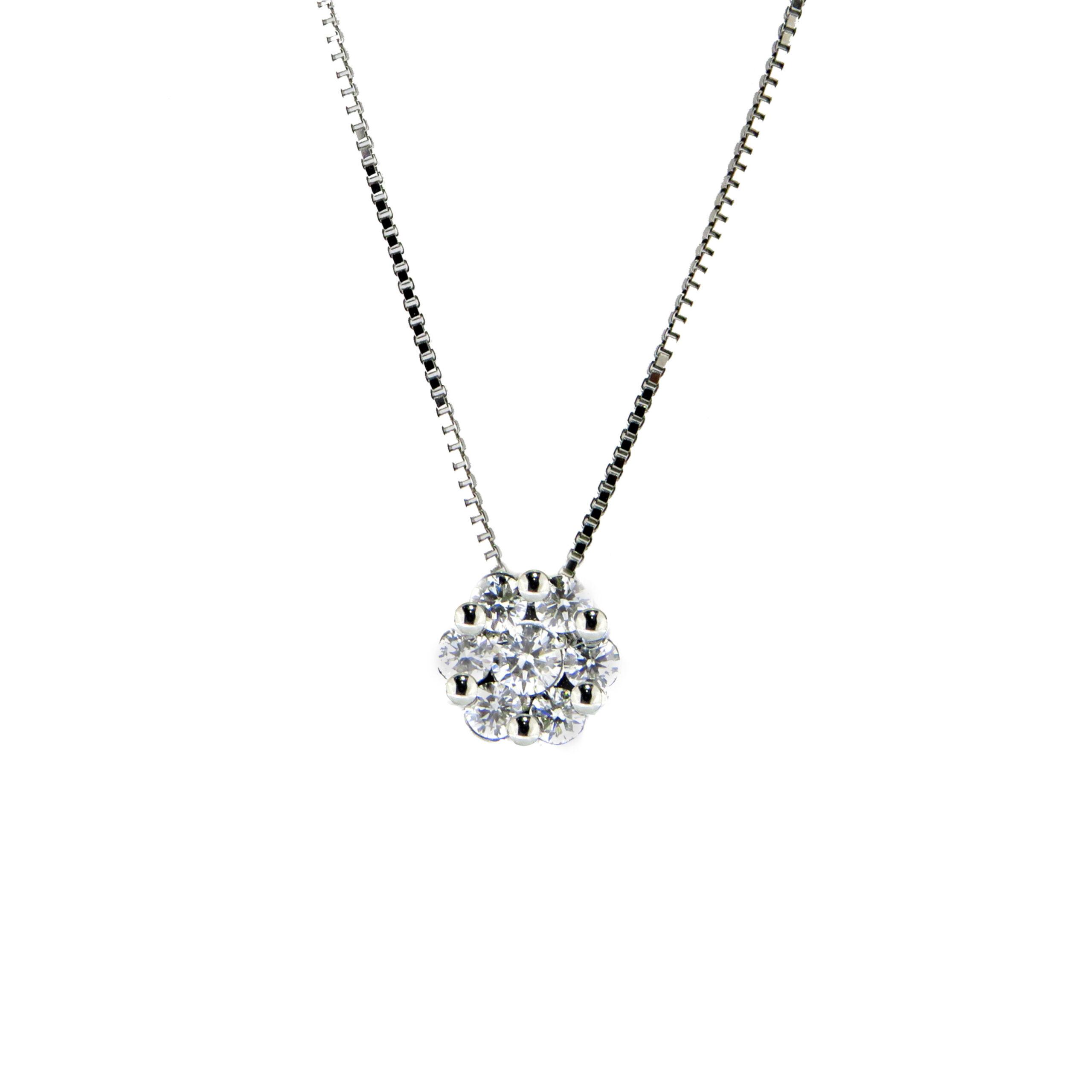 pendente diamanti