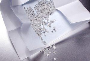 Diamanti in cartina